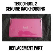TESCO HUDL 2 BACK HOUSING PLASTIC GENUINE OFFICIAL BUBBLEGUM PINK GOOD CONDITION