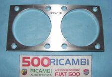 FIAT 500 F/L PIASTRA RINFORZO MONOBLOCCO SOTTOCANNA H 10mm 80 Ø73,5 MOTORE 595cc