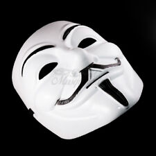 V for Vendetta Mask Adult Mens Guy Anonymous Halloween Costume Party Mask