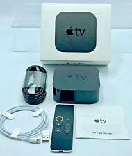 Apple TV 32GB 4K HD Media Streamer - Black (MQD22LL/A) 5th Generation IN BOX