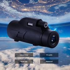 BAK4 Zoom Optics 200*80 HD Monocular Telescope+ Phone Tripod+Cell Clip