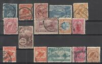 BJ6513/ NEW ZEALAND – 1898 / 1908 USED CLASSIC LOT – CV 350 $