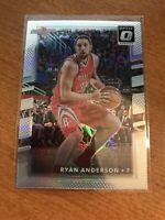 2017-18 Donruss Optic Basketball #55 Ryan Anderson Silver Holo Prizm - Rockets