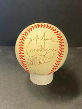1988 Chicago Cubs Team Signed Baseball Greg Maddux/Grace/Barryhill/Webster AUTOS