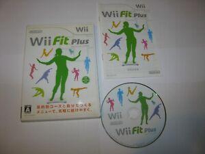 Wii Fit Plus Japanese Nintendo Wii Japan import US Seller