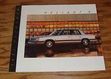 Original 1987 Plymouth Reliant K Sales Brochure 87