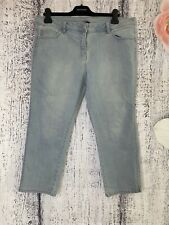 Size 16 George Light Blue Cropped Denim Jeans