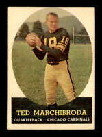 1958 Topps #44 Ted Marchibroda  EX+ X1650716