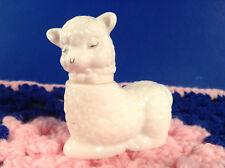 Vintage Avon Little Lamb Sweet Honesty Perfume Empty Collectable Bottle