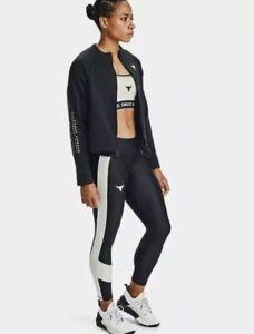 Under Armour Project Rock Women's Full zip Jacket Size L. 1359260