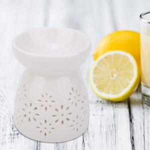 Ceramic Essential Oil Burner Candle Incense Tealight Wax Melt Fragrance Light