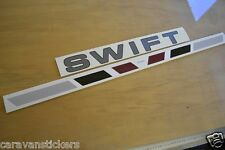 SWIFT Challenger - (2009)(PRINTED) - Front Roof Sticker Decal Graphic - SINGLE