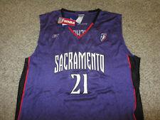 Nwt Ticha Penicheiro Sacramento Monarchs Wnba Basketball Jersey Reebok 2Xl Xxl