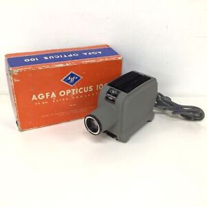 AGFA Opticus 100 35mm Slide Projector Type 5970 Australia #976