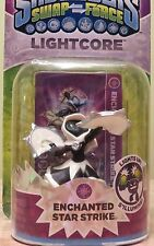 Skylanders Swap Force Lightcore Enchanted Star Strike White NISB *Rare!*