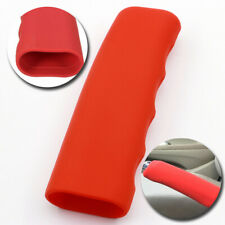 Universal Red Car Silicone Gel Parking Hand Brake Anti Slip Cover Case Sleeve
