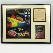 Vintage NASCAR 1997 Framed Limited Edition Jeff Gordon Print - #11,321 / 12,500