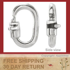 8 Solid Sterling Silver Magic Link Lock Jump Ring - Top Quality Lock Jumprings