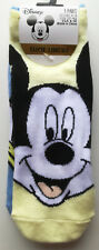 Mickey Mouse Shoe Liners 3pk Disney Official Size 4-8UK Adult BNWT