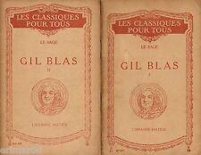 GIL BLAS / I - II / Extraits // LE SAGE // Collection Les Classiques pour tous