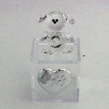 DLM25774 Scatoline plexiglas Orsetto cristallo 18° compleanno Trasparente (kit 6