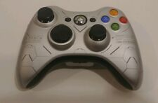 Xbox 360 Halo Reach Collector Wireless Controller Silver Black TESTED