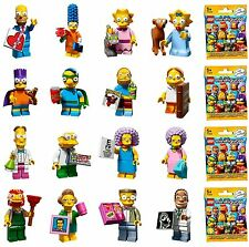 LEGO Simpsons Series 2 Minifigures (Opened to determine figure) All bags (NEW)