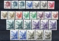 NORWAY 1992-2010 King and Queen definitive set complete used.