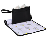 Go Anywhere Changing Wallet Baby Nappy Change Mat Kit Travel Diaper Change Bag