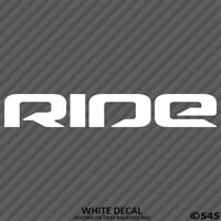 RIDE Snowboards Snow Boats Vinyl Decal Sticker - Choose Color/Size