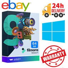 WonderShare Filmora 9 For Win 64 Bit Lifetime License ✔️FAST DELIVERY✔️