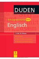 Duden - Schulgrammatik extra - Englisch: Grammatik - Tex... | Buch | Zustand gut