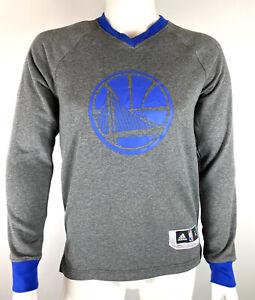 Adidas NBA Golden State Warriors Christmas On Court LS Shooting Shirt sz S NWT