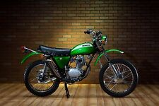 CANDY EMERALD GREEN Custom Mix Paint for Honda Motorcycles- AEROSOL - SL/CT