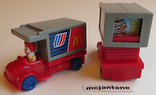 LOOSE McDonald's Friendly Skies RONALD FOOD Meal TRUCK Air PLANE United Airlines
