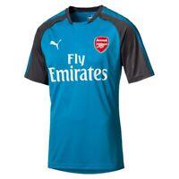 Puma Fußball AFC Arsenal Football Club Trainingstrikot Herrren blau dunkelgrau