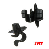 2Pcs Bonnet Stay Hood Clips Retainer For Peugeot 106 206 306 406 407 307 Partner