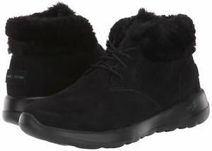 Skechers Women's On-The-go Joy-Lush Chukka Boot, Black, Size 9.0 om4M