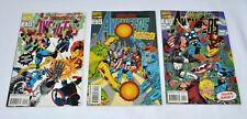 3 Marvel Comic Book Books The Terminatrix Objective Avengers 2 3 4 of 4 Lot H