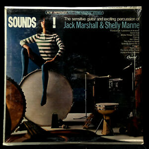 Jack Marshall/Shelly Manne-Sounds!-Capitol 2610-STEREO SEALED