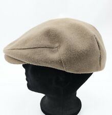 Vintage Brown Cabbie Newsboy Hat Dobbs Fifth Avenue NY Large 7 1/4- 7 3/8 USA