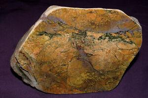 Van Duzen River Jaspis  poliert 1830,8g  153x100x88mm, Heilstein