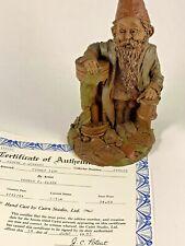Father Time 1984 Tom Clark Signed Gnome Figurine 1008 Coa No Story 11