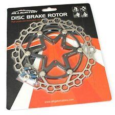 Alligator superlight Diamond Floating 2-piece Disc brake rotor 160mm BLK vs Hope
