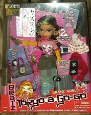 BRATZ World! Tokyo A Go-Go YASMIN Doll, NIB Rare Collectable Doll NRFB
