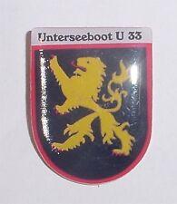 """Esercito tedesco marine pin imbarcazione sottomarino """"u33""""... p8156"""