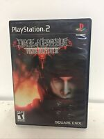 Dirge of Cerberus: Final Fantasy VII 7 (Sony PlayStation 2, PS2 2006) Complete