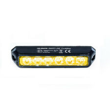 LED-MARTIN SMART LINE Frontblitzer 18W - orange - 12V/24V - ECE-Zertifiziert