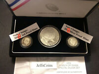 2015 W March of Dimes Set Dollar 2018 S Clad & 90% Silver Proof Dime No Reverse