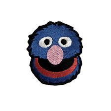 Super Grover Embroidery Iron On Patches Jacket Badge Jeans Applique Bag Cap